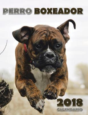 Perro Boxeador 2018 Calendario (Edición España)