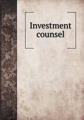 Investment Counsel