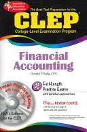 The Best Test P CLEP Financial Accounting w/ CD-ROM (REA)-The Best Test Prep for