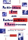 Activities for an interactive classroom