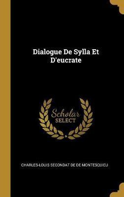Dialogue de Sylla Et d'Eucrate