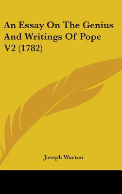 An Essay On The Genius And Writings Of Pope V2 (1782)