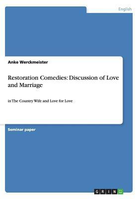 Restoration Comedies