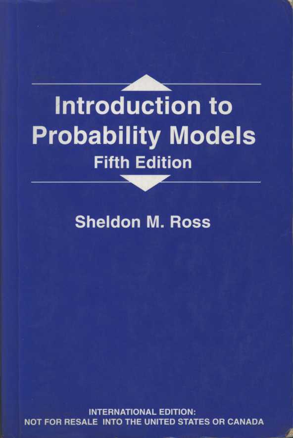 An Introduction to Probability Models