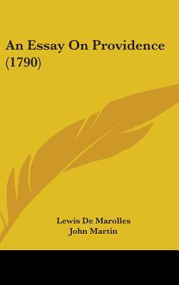 Essay On Providence (1790)