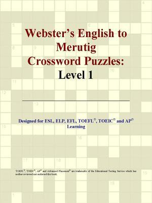 Webster's English to Merutig Crossword Puzzles