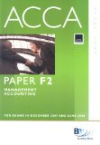 ACCA (New Syllabus) - F2 Management Accounting