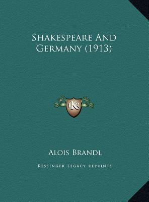 Shakespeare and Germany (1913)
