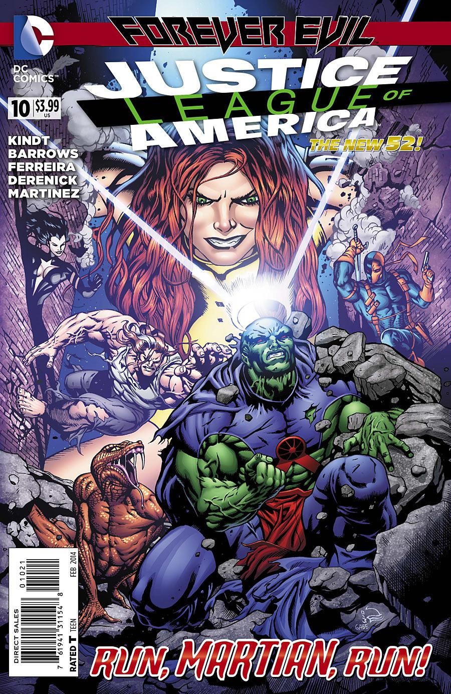 Justice League of America Vol.3 #10
