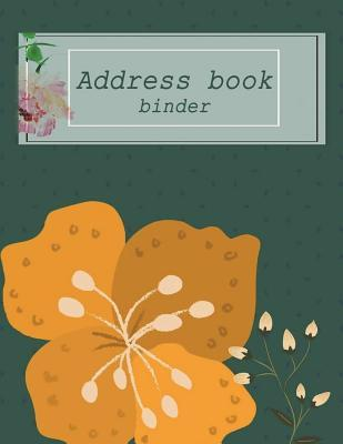 Address book binder