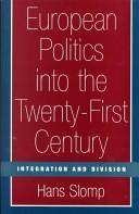 European Politics into the Twenty-first Century