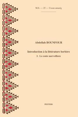 Introduction a la litterature berbere