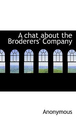 A Chat about the Broderers' Company