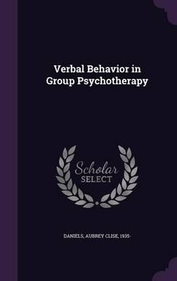 Verbal Behavior in Group Psychotherapy