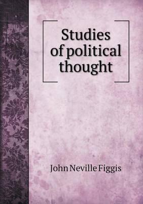 Studies of Political Thought