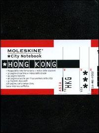 Moleskine pocket. City Notebook Hong Kong