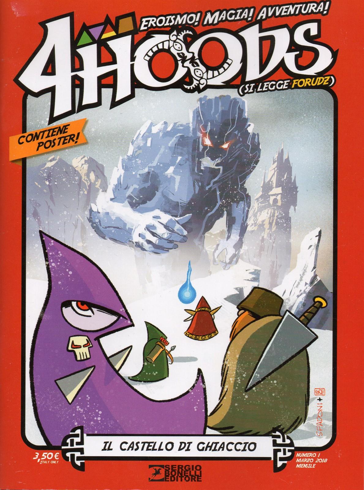 4 Hoods n. 1