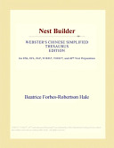 Nest Builder (Webster's Chinese Simplified Thesaurus Edition)
