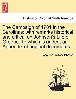 The Campaign of 1781...