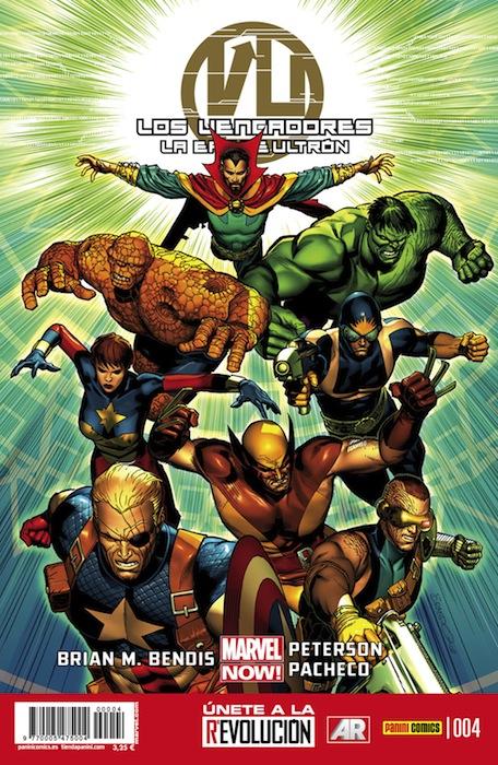 Los Vengadores: La era de Ultrón Vol.1 #4