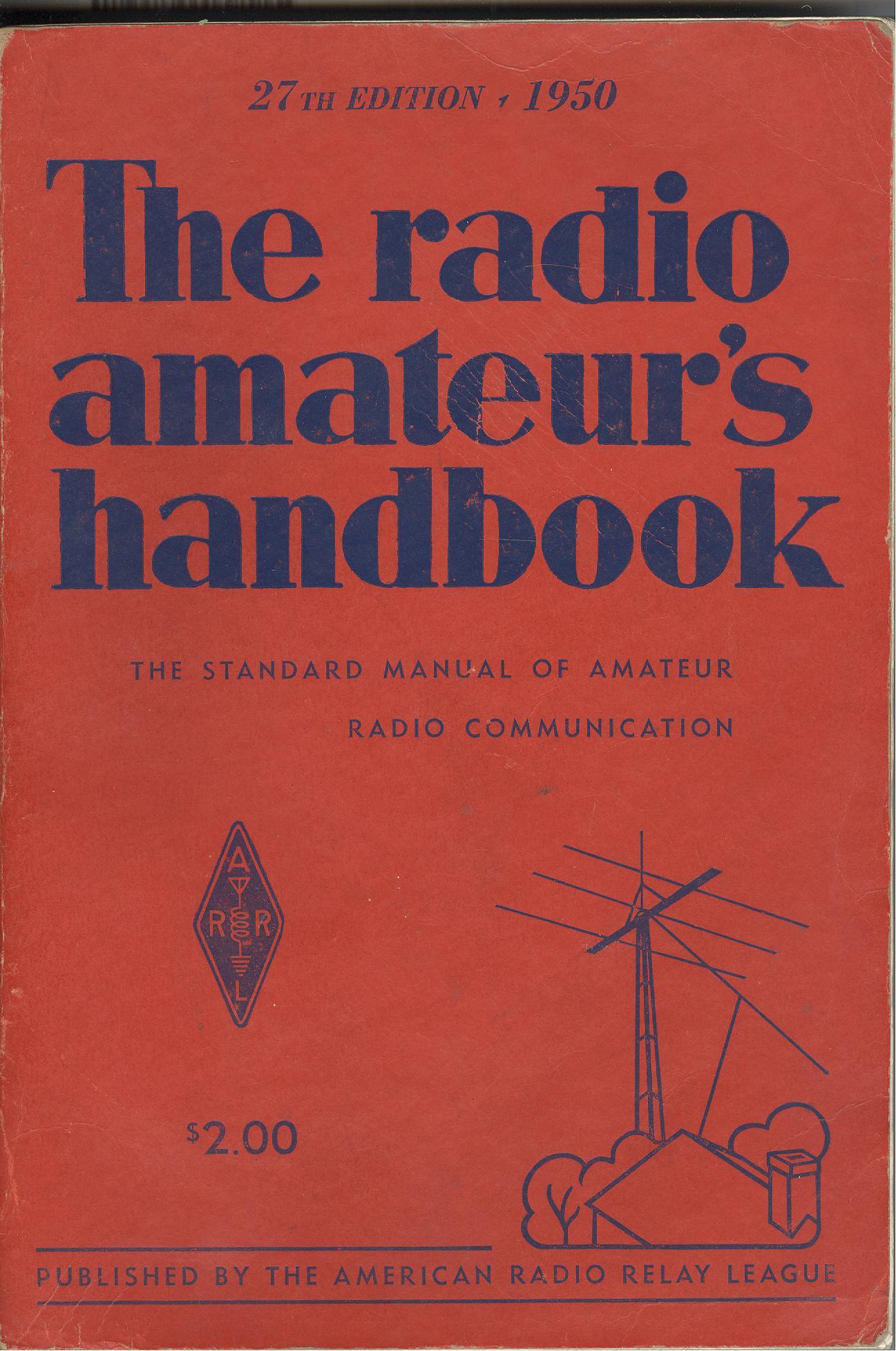 The Radio Amateur's Handbook - 1950