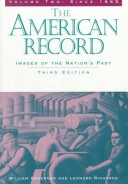 American Record: To 1877 v. 1