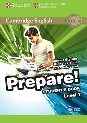 Cambridge English prepare! Level 7. Student's book. Per le Scuole superiori. Con espansione online