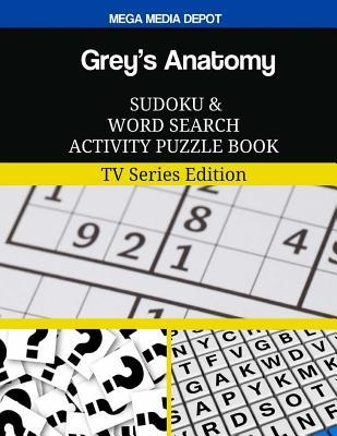 Grey's Anatomy Sudoku and Word Search Activity Puzzle Book