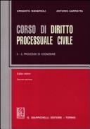 Corso di diritto processuale civile. Volume 2. Editio minor