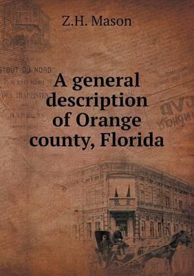 A General Description of Orange County, Florida