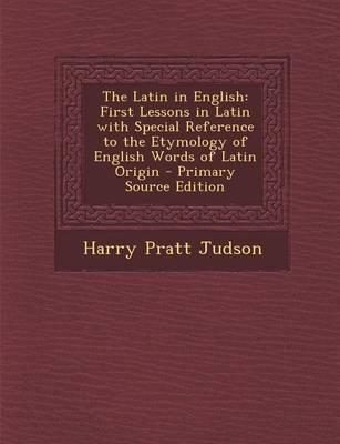 The Latin in English