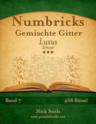 Numbricks Gemischte Gitter Luxus - Schwer - 468 Ratsel