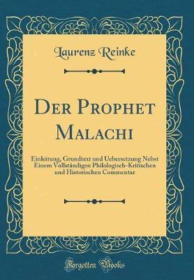 Der Prophet Malachi