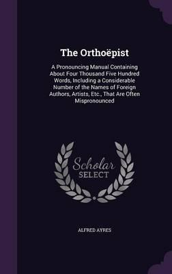 The Orthoepist