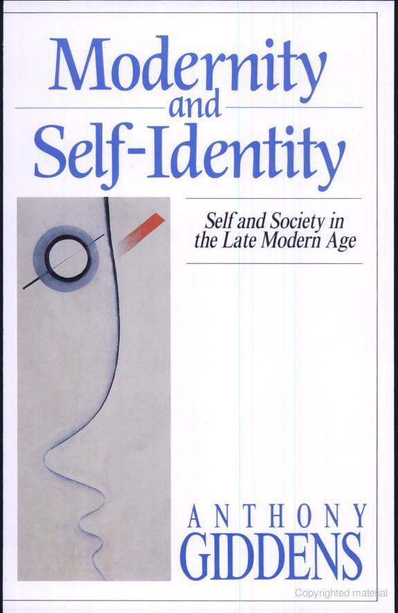 Modernity and Self-I...