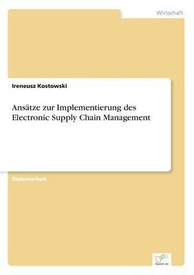 Ansätze zur Implementierung des Electronic Supply Chain Management