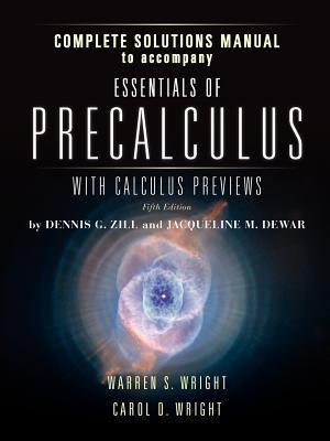 Essen of Prec W/Calc Prev 5e Inst Complete Sol Man