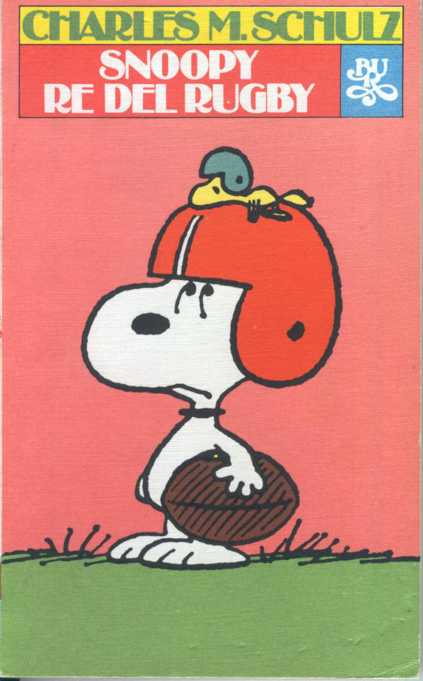 Snoopy re del rugby