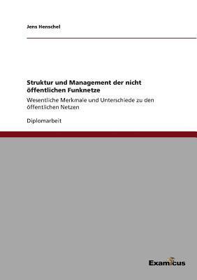 Struktur und Management der nicht öffentlichen Funknetze