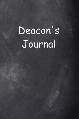Deacon's Journal Chalkboard Design