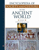 Encyclopedia of Society and Culture in the Ancient World Set
