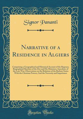 Narrative of a Residence in Algiers