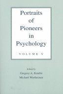 Portraits of pioneers in psychology