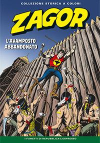 Zagor collezione storica a colori n. 127