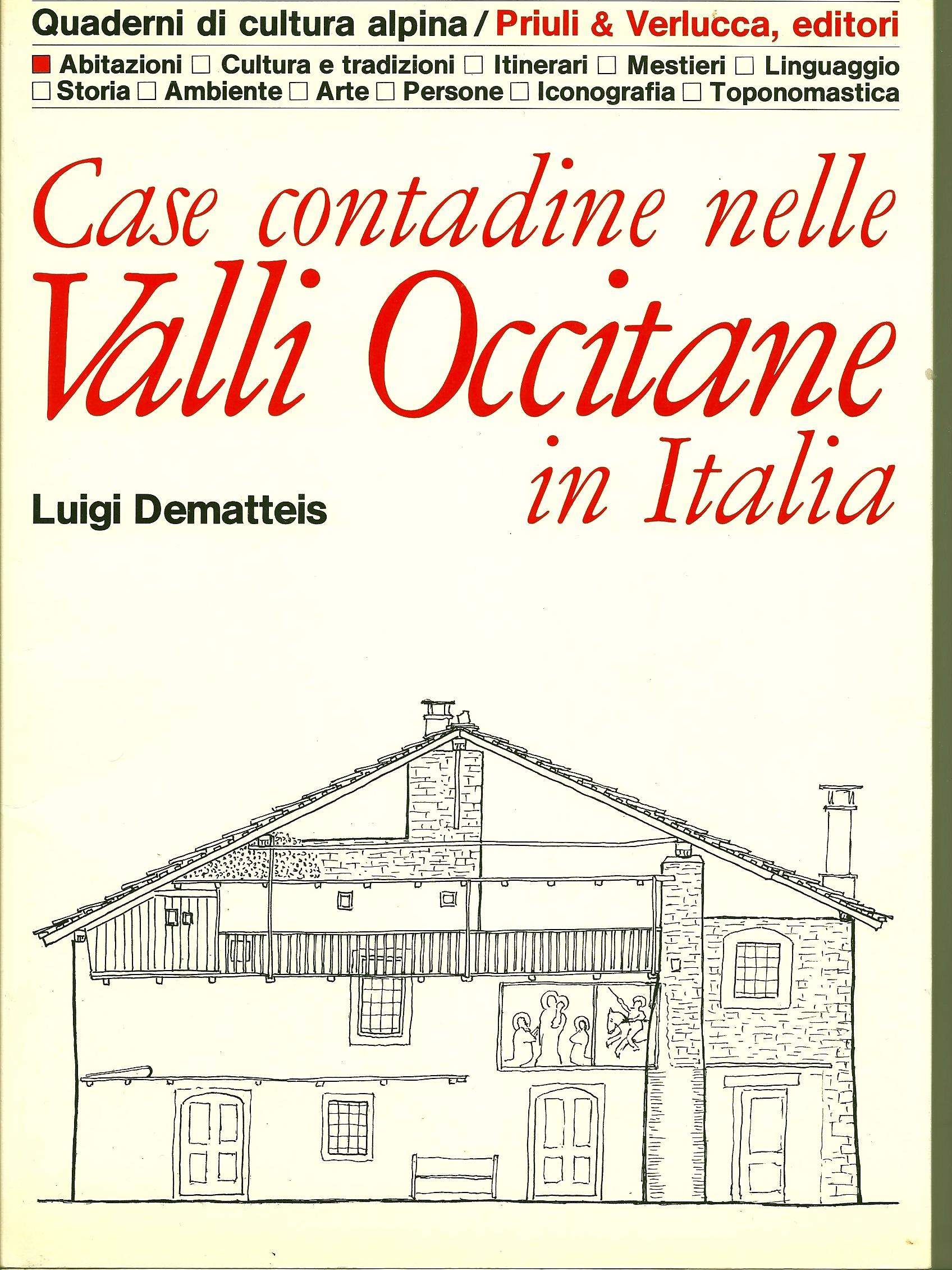 Case contadine nelle valli occitane