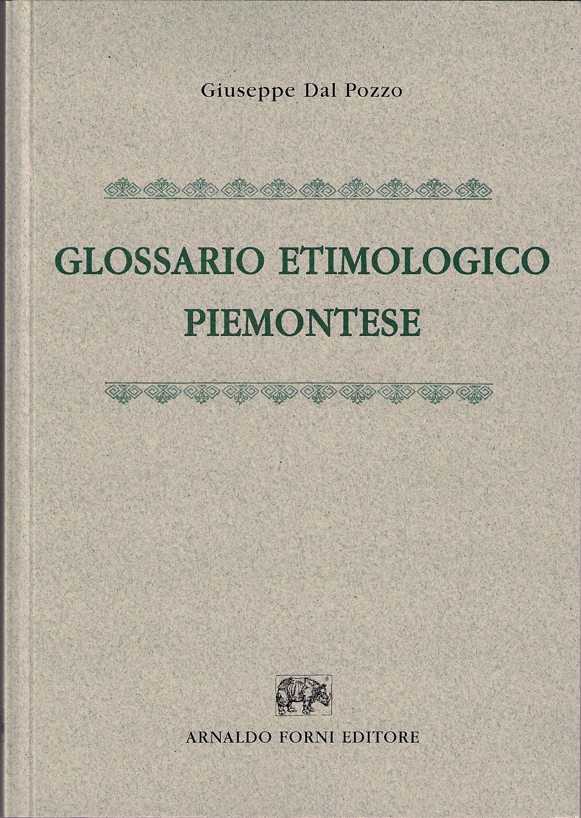 Glossario etimologico piemontese