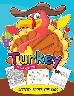 Turkey Thanksgiving Activity Books for Kids