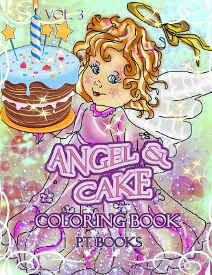 Angel & Cake Coloring Book