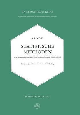 Statistische Methoden For Naturwissenschafter, Mediziner Und Ingenieure