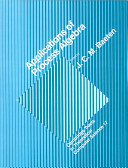 Applications of Process Algebra